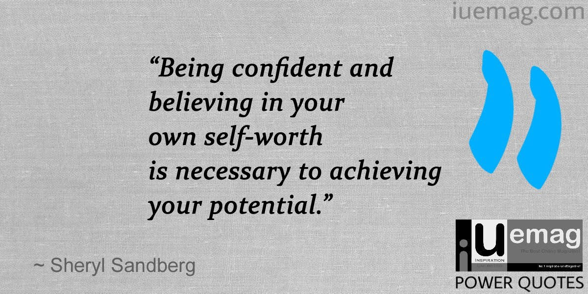 Quotes About Being Confident Captivating 7 Sheryl Sandberg Quotes That Can Help You At Every Stage Of Your Life