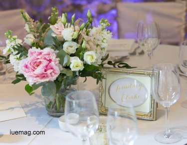 Creative ideas for wedding decor using flowers