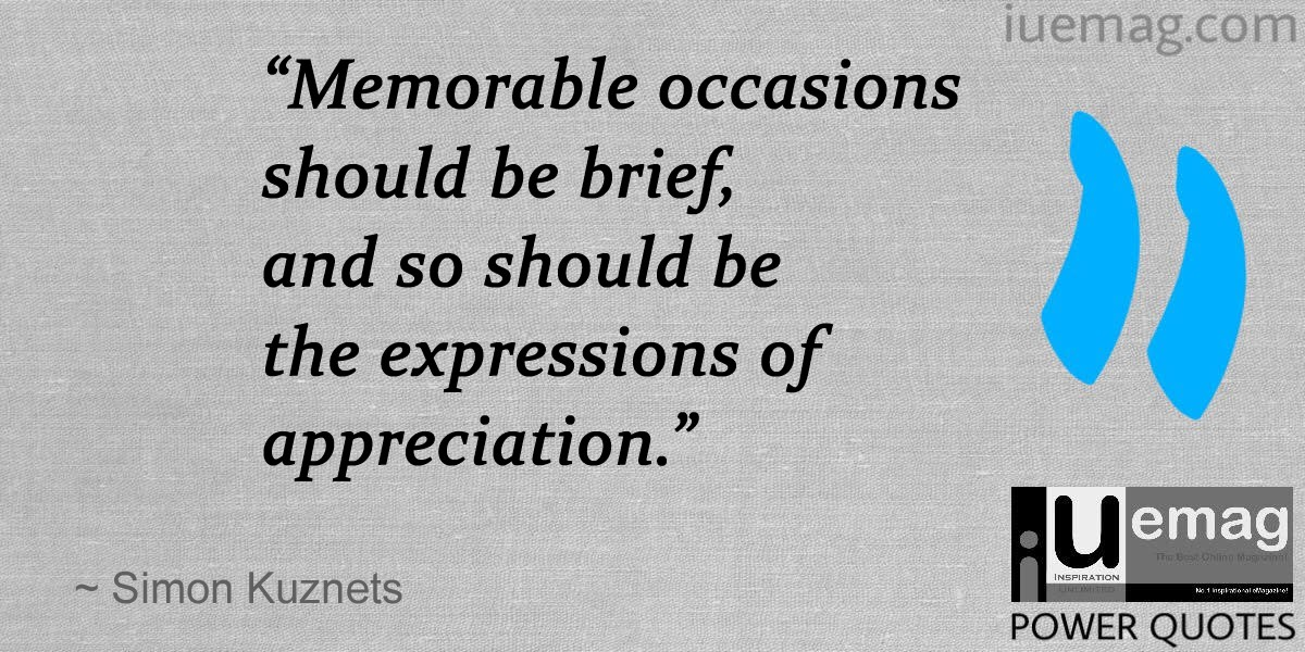 Quotes: Value Of Appreciation