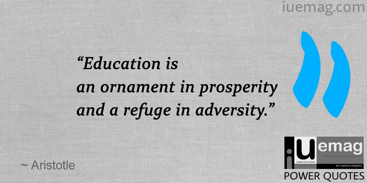 Positive Quotes Education Success: 8 Must Read Quotes About The Gift Of Education