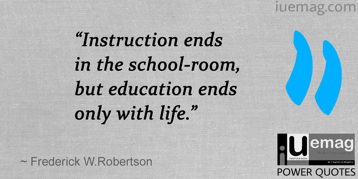 8 Must Read Quotes About The Gift Of Education