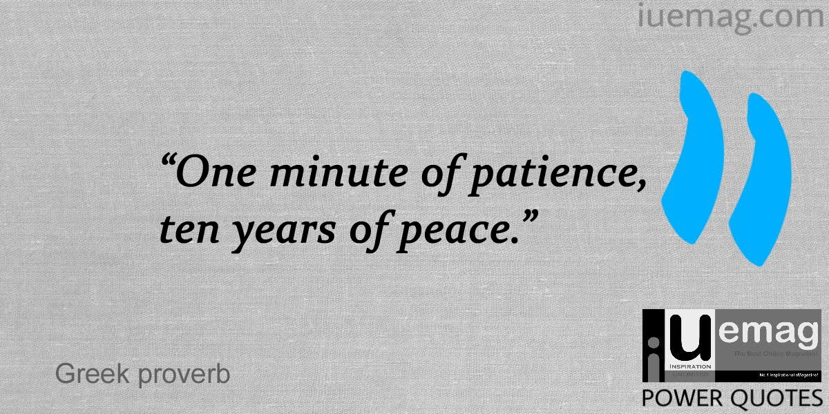 Patience Quotes That Will Calm You Down