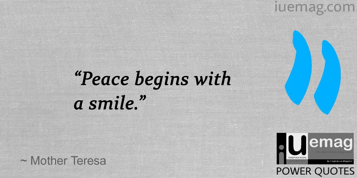 peace quotes a better world - Peace Quotes
