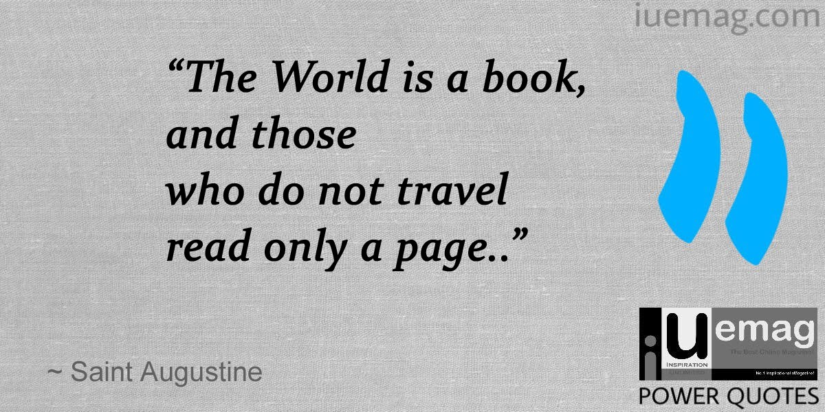 6 Best Travel Quotes To Inspire You For Your Next Adventure