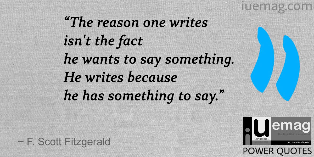 Quotes For Every Aspiring Writer