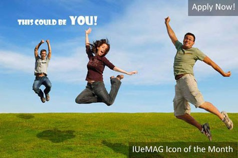 apply for iuemag icon of the month