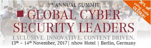 3rd Global Cyber Security Leaders Summit 2017, Berlin