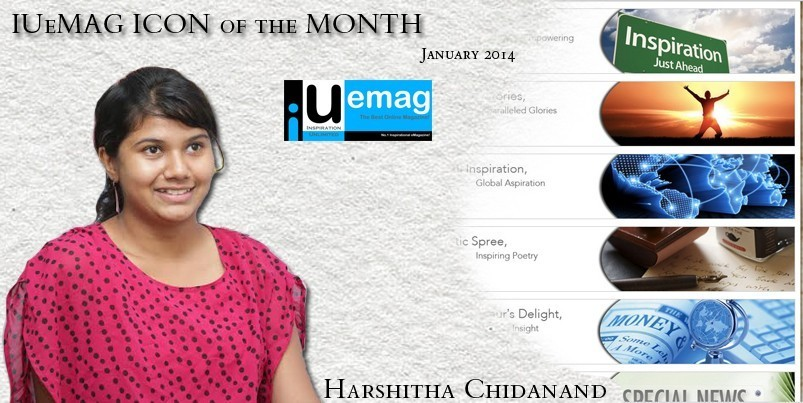 Harshitha Chidanand, IUeMag ICON of the MONTH January 2014