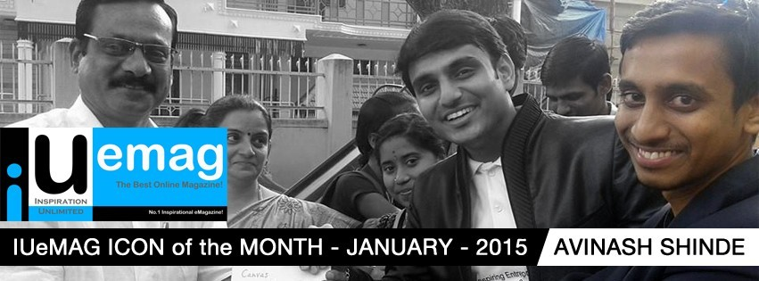 Avinash Shinde, IUeMag ICON of the MONTH January 2015
