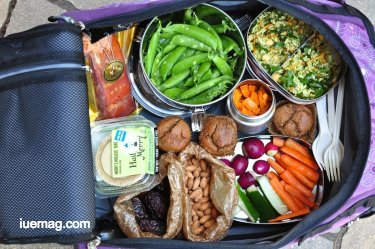 Food habits during travels