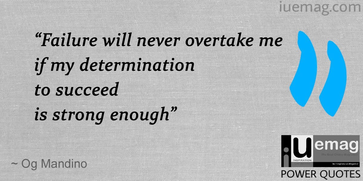 Determination Quotes For Success
