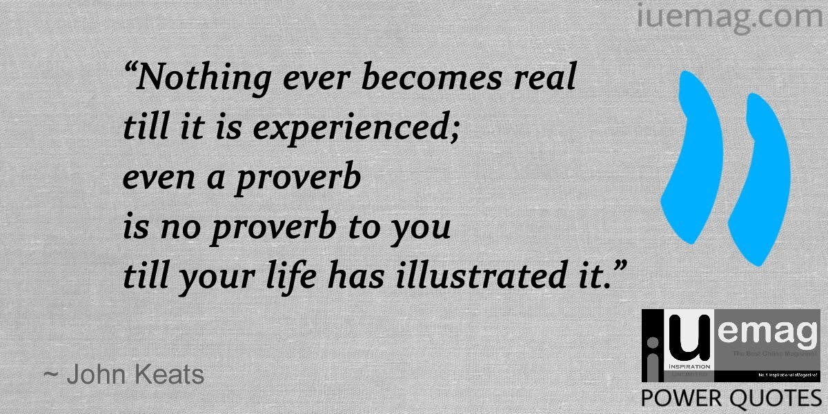 8 Power Quotes That Makes You Realize The Value Of Experience