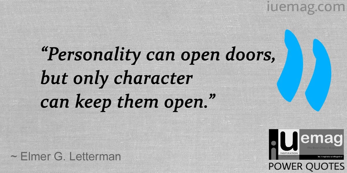 9 Power Quotes To Help You Build A Lasting Character