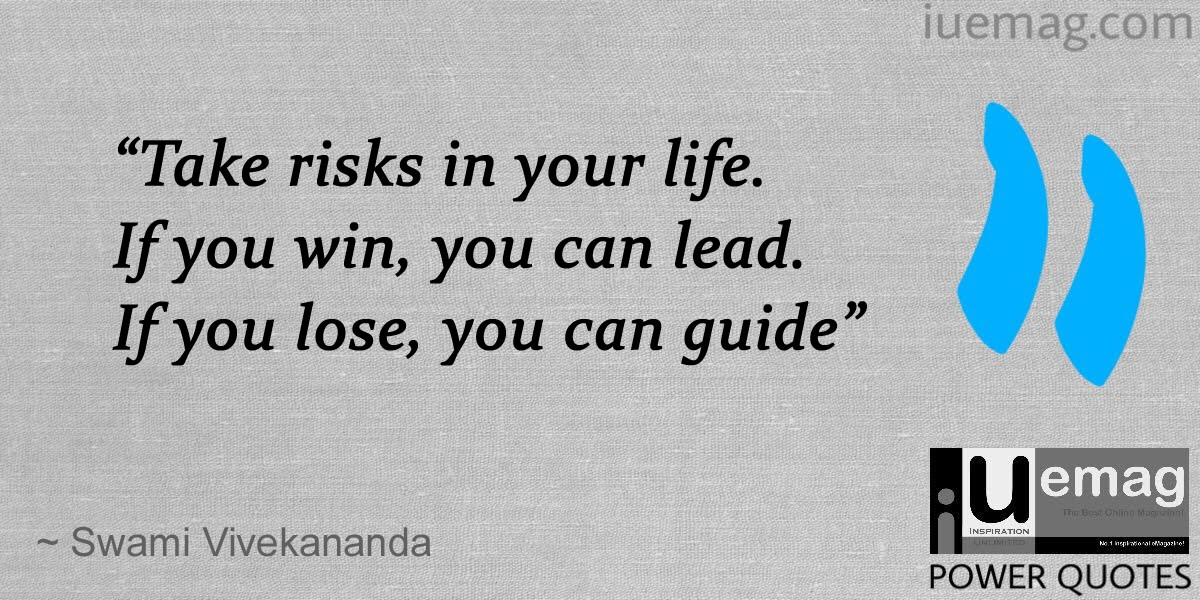 Risk Quotes Impressive 6 Power Quotes That Inspire You To Take Risks