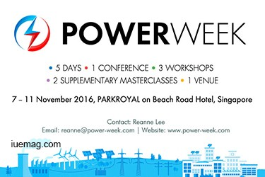 Power Week Conference, Singapore, 2016