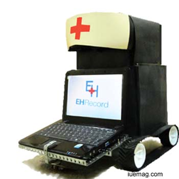 medical robot with electronic health record system,a boon