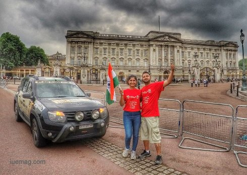 Bengaluru to London on 4 wheels