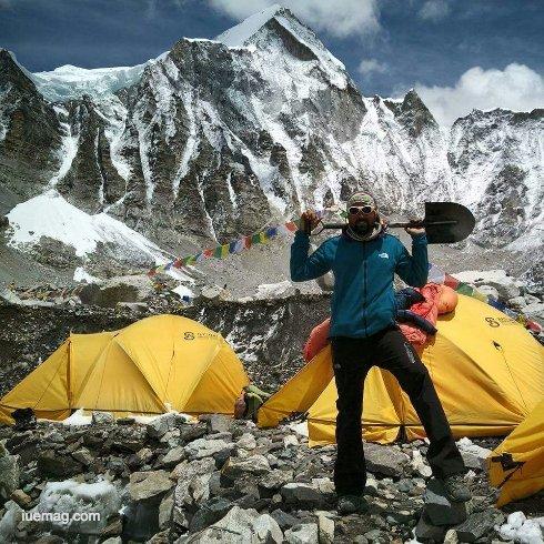 Naresh Raju - Mountaineering