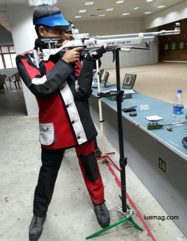 Tejas Krishna Prasad - International Shooter
