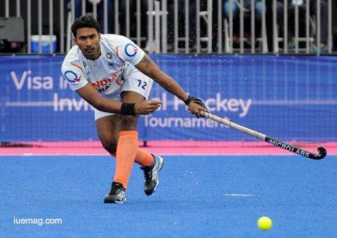 V R Raghunath - Hockey Player