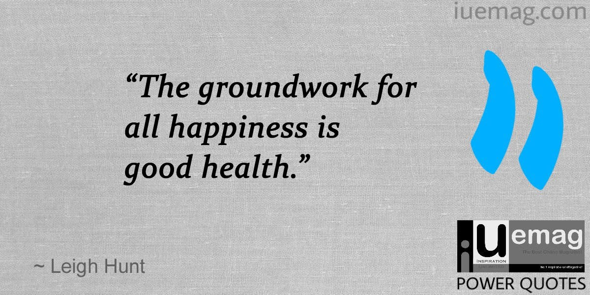 Good Health Quotes Brilliant 7 Quotes That Motivate You To Lead A Healthy Life