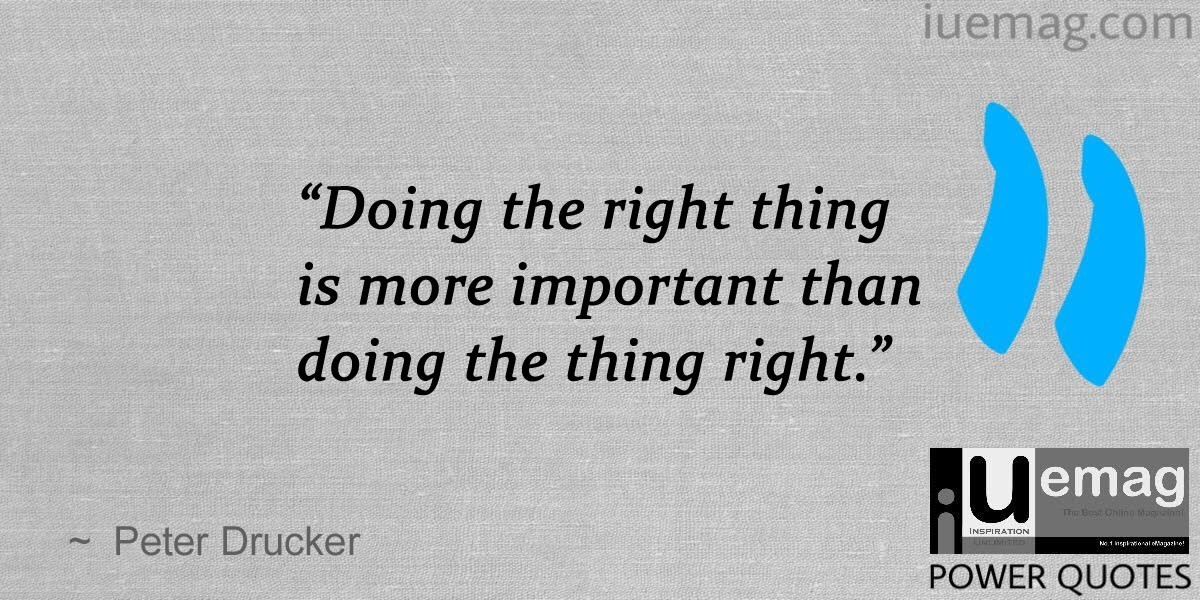 10 Significant Peter Drucker Quotes To Help You Become An Effective