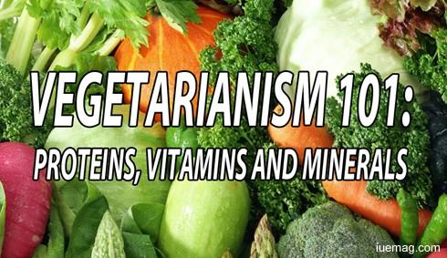 Vegetarianism 101: Proteins, Vitamins and Minerals