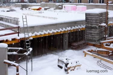 Construction Site measures during winters