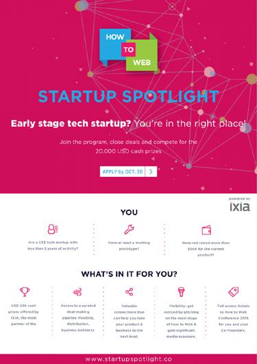 Web Startup Spotlight