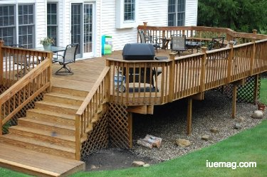 Deck building and cleaning