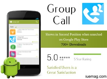 group call,the most awaited app,you talk we will dial