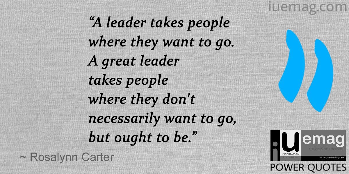 6 Rosalynn Carter Quotes That Define What It Takes To Be A Leader