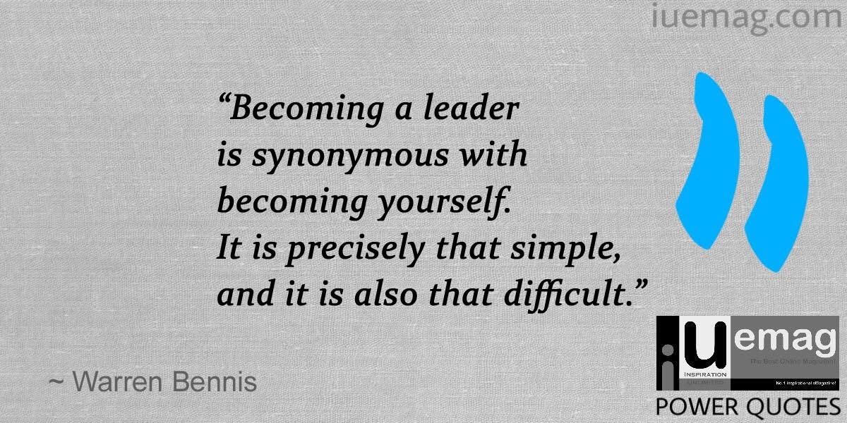 10 Warren Bennis Quotes On Leadership In Business