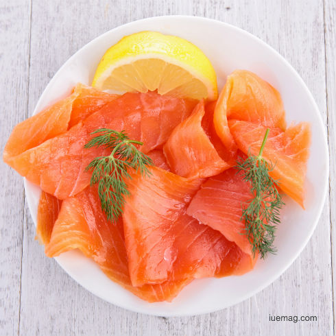 Weight loss with Salmon
