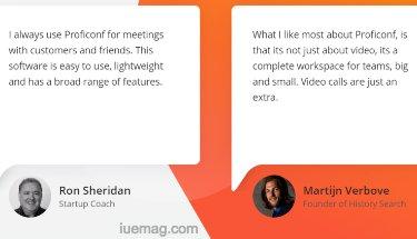 Proficonf Video Conferencing
