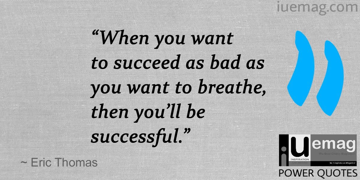 Eric Thomas Quotes That Can Lead You To Journey The Success Path